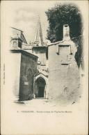 13 TARASCON / Entrée Antique De L'Eglise Sainte-Marthe / - Tarascon