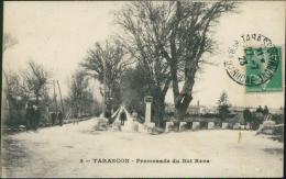 13 TARASCON / Promenade Du Roi René / - Tarascon
