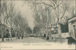 13 TARASCON / Le Cours National, La Promenade / - Tarascon