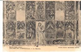 POSTAL    IGLESIA DE CORNEILLÁ DE CONFLENT -PIR.ORIENT.-  RETABLO - Roussillon