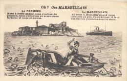 Marseille, Oh ?  Ces Marseillais ( 2 X Scan) - Notre-Dame De La Garde, Aufzug Und Marienfigur