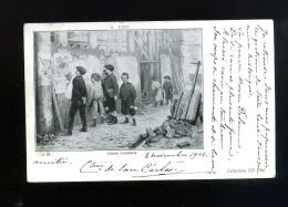 Art - Peinture - LINT - Jeunes Amateurs - 11 Dt - ND - Enfants -  Pionnière - Oblitération Corbie 1902 - Peintures & Tableaux