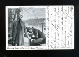 Art - Peinture - Maximilienne Guyon La Rupture - Couple - 16 Dt - Collection ND -  Pionnière - Oblitération Corbie 1902 - Peintures & Tableaux