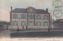 22911 BRIIS SOUS FORGES / LA MAIRIE - Ed Aubry B/F -colorisee - Briis-sous-Forges