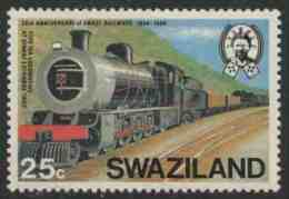 Swaziland 1984 Mi 467 YT 465 ** Type 15A Locomotive At Siweni Yard / Lok Im Rangierbahnhof Siweni - Treinen