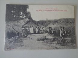 CPA GUINÉE CAMPEMENT DE MANŒUVRES A TIBILI - Guinea