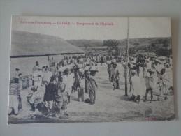 CPA GUINÉE CAMPEMENT DE FIRGUIADI - Guinea