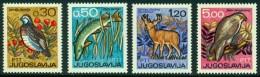 "-Yugoslavia-1967-""Wildlife"" MH * - Unused Stamps"