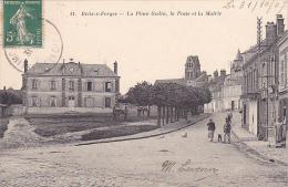 22916 BRIIS SOUS FORGES / Place Godin La Poste La Mairie -11 Librairie Nouvelle Rambouillet