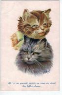 Les Chats :Ah! Si On Pouvait Parler, On Vous En Dirais Des Belles Choses. - Wuyts