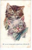 Les Chats :Ah! On Ne S'amuse Guère,quand Vous N'êtes Pas Là. - Wuyts