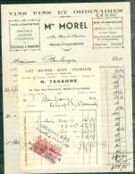 Lot De Timbres Fiscaux Sur 24 Documents, Quitance , Boucherie , Abatoir  - Lo345 - Revenue Stamps