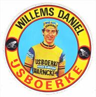 AUTOCOLLANT  STICKER.  IJSBOERKE  WILLEMS DANIEL - Aufkleber