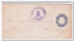 El Salvador 2 Centavos Prepayed Envelope 1894 - El Salvador