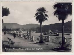 LAVENO ( Verese ) - Lungo Lago, Arrivo Del Traghetto - Italia