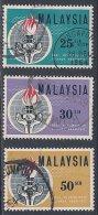 Malaysia ~ Eleanor Roosvelt Commemoration ~ SG 9-11 ~ 1963 ~ Used - Malaysia (1964-...)