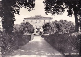 C-1377 Cartolina Porto S.Elpidio - Villa Comunale - Fermo
