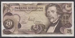 Oostenrijk 20 Schilling   2-7-1967 Nr L283959k - Oostenrijk
