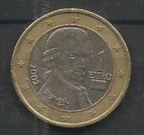 1.00 Euri 2002 - Austria