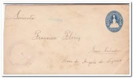 El Salvador 5 Centavos 1905 Prepayed Envelope - El Salvador