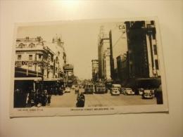 Swanston Street Melbourne Vic. The Rose Series P 119 Tram Auto Car Movimentata Australia - Melbourne