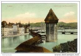 "CP - 0170 - Carte Postale  ""Pont De Lucerne"" - Ponti"