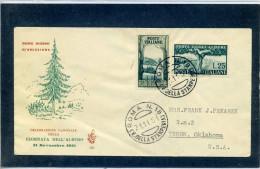 FDC VENETIA 1951 FESTA DEGLI ALBERI - 6. 1946-.. Repubblica