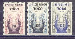 TOGO   Yvert  N° 261-262-278 * - Togo (1960-...)