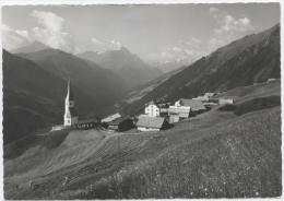 Tenna Im Safiertal, Blick Zum Piz Beverin Und Bruschghorn 1971 - GR Grisons