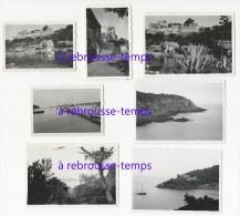 En Septembre 1938-PORT CROS--photos Amateur Dentelées 8,5 X 6cm Et 7x4,5cm - Lieux