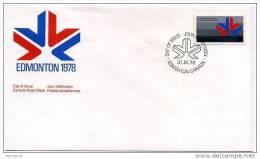 1977  Jeux  Du Commonwealth   Scott  757   Y&T 659 - Omslagen Van De Eerste Dagen (FDC)