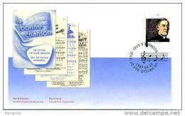 1997  Abbé Gadbois, Musicologue   Scott  1637  Y&T 1507 - First Day Covers