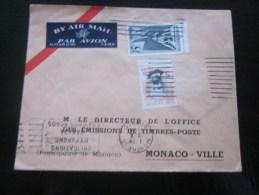 1968 Lettre -Cover  Par Avion Luftpost  By Air Mail  Ottawa Canada Pour Monaco Monte-Carlo - 1952-.... Règne D'Elizabeth II