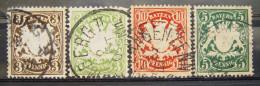 Marken Altdeutschland Bayern Gestempelt Aus Mi. Nr. 47 - 64                              (X137) - Bayern