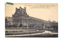 Paris: Le Jardin Des Tuileries Et Le Pavillon De Mansan, Musee Des Arts Decoratifs (14-796) - District 01