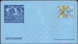 "VATICANO - INTERI POSTALI - AEROGRAMMA - AEROGRAMME - SALVATOR MUNDI - 1978 - L. 200 - CATALOGO FILAGRANO ""A15"" - NUOVO - Interi Postali"