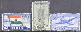 INDIA  200-02   (o)   DOMINION - 1947-49 Dominion