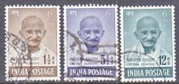 INDIA  203-5   (o)   GANDHI - 1947-49 Dominion
