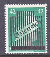 AUSTRIA  404a  Thin  Bar   * - 1945-.... 2nd Republic