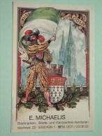 Briefmarken Briefe Und Ganzsachen Auktionen Köln / Cöln Keulen - Anno 19?? ( Zie Foto Voor Details ) !! - Bourses & Salons De Collections