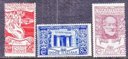 ITALY  140-2  ** - 1900-44 Vittorio Emanuele III