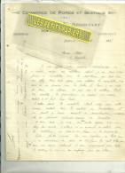 54 - Meurthe-moselle - BAYON - Facture BAILLY - Commerce De Porcs Et Bestiaux – 1925 - France