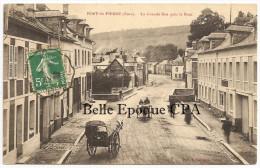27 - PONT-SAINT-PIERRE - La Grande Rue Près Le Pont +++ 1913 ++++ Phot. A. Lavergne, Vernon ++++ RARE / PAS Sur Delcampe - France