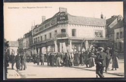 COURTENAY . Les Magasins Bornet - Mitton . - Courtenay