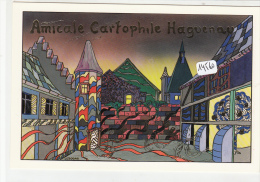 CPM  - 67 - Haguenau   - Création Originale  Marc Ledogar Pour L'Amicale - Ledogar