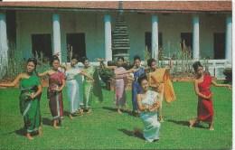 Thai Classical Dance PC 364 Thai Silpa Front & Back Shown - Thailand