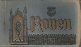 Rouen - Carnet De 24 Cartes Postales Détachables - Vues Générales Et Monuments - Rouen
