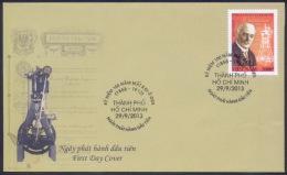 FDC Vietnam Viet Nam 2013 : 150th Death Anniversary Of Rudolf Diesel (Ms1041) - Vietnam