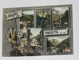 TORINO - Groscavallo - Saluti Da Pialpetta - 5 Vedute - Costumi - 1961 - Unclassified