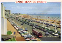 SAINT JEAN DE MONTS -85- L'ESPLANADE DE LA MER ET LA PLAGE - Saint Jean De Monts